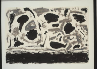 Untitled (Black & Silver Composition)