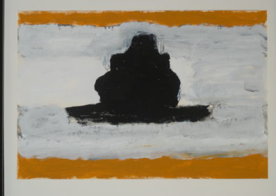 Untitled (Black Stupa)