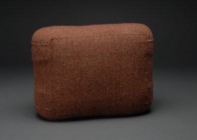Untitled (Brown Tweed Rectangle)