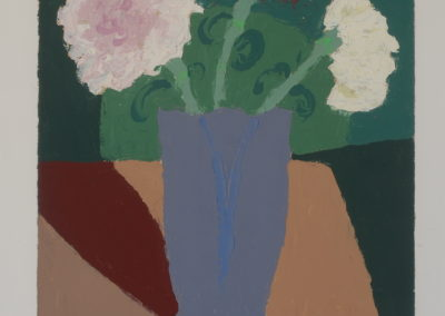 Untitled (Carnations in Lavendar Vase)