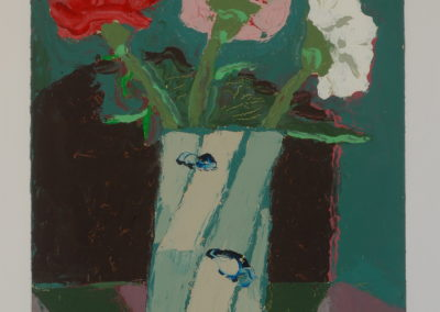 Untitled (Carnations in Pitcher)