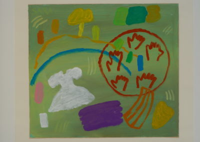 Untitled (Family-White Dress and Hands)