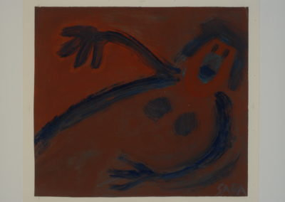 Untitled (Floating Blue Woman)