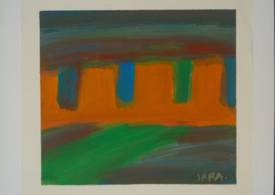 Untitled (Four Brown Mesas)