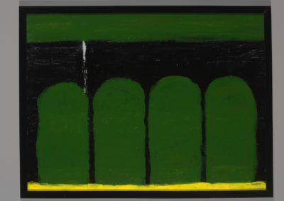 Untitled (Four Green Mounds)