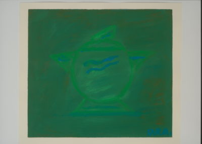 Untitled (Green Tea Pot)