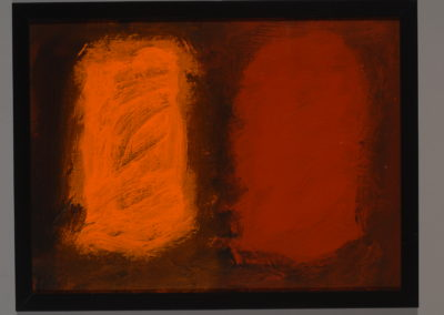 Untitled (Orange Brown Pair)