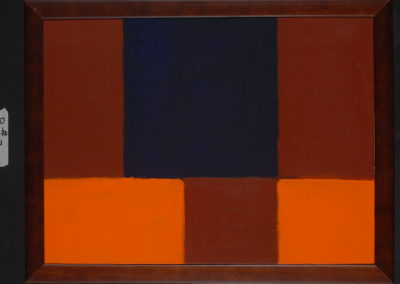 Untitled (OrangePurple Fields)
