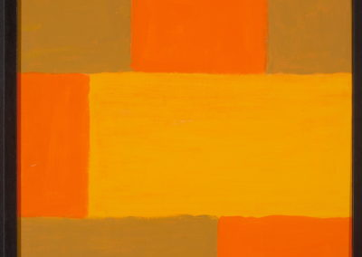 Untitled (Patchwork Fields Large Yellow)