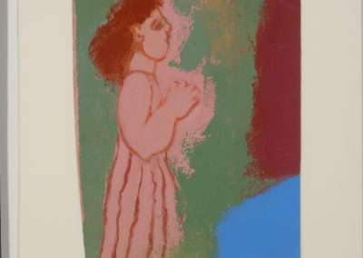 Untitled (Pink Lady Clapping)