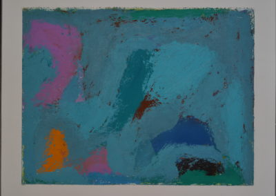 Untitled (Pink and Green Worms)