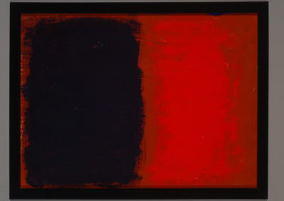 Untitled (Red Purple Pair)