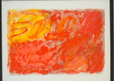 Untitled (Red Swirls)