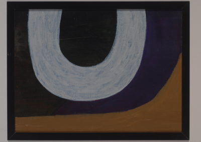 Untitled (Silver Horseshoe)