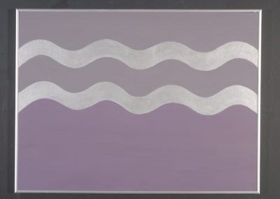 Untitled (Silver Waves)