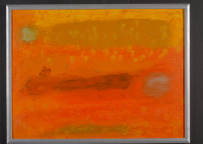 Untitled (Sleeping Shadow-Yellow Orange)
