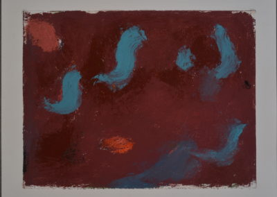 Untitled (Turquoise Worms)