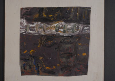 Untitled (White Worm in Brown Ooze)